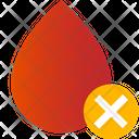 Negative Blood Blood Negative Icon