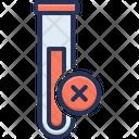 Negative Blood Test Icon