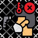 Infected Coronavirus Virus Icon