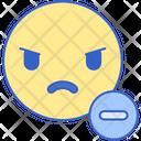 Negative Emotion Icon