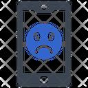 Negative Reaction On Mobile Icon