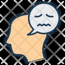 Negative Thinking Icon