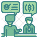 Negotiate Management Deal Icon