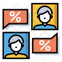 Negotiation Rate Compromise Compromise Icon