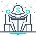 Negotiation Arbitration Compromise Icon