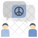 Conciliatory Friendly Peace Icon