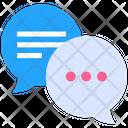 Negotiation Chat Communication Icon