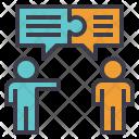 Negotiation Discussion Talk Icon