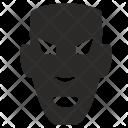 Negro Mask Icon