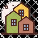 Neighborhood House Home Icon