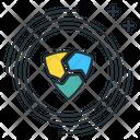 Nem Altcoin Digital Icon