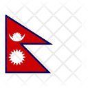 Nepal Flag Flags Icon