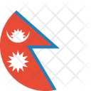 Nepal Flag Country Icon