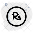 Nepalese Rupee Coin Icon