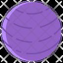 Neptune Planet Solar System Icon