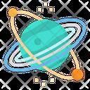 Neptune Space Planet Icon