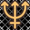 Neptune Star Zodiac Icon