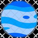 Neptune Planet Universe Icon