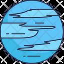 Neptune Universe Galaxy Icon