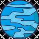 Neptune Planet Galaxy Icon