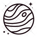 Space Lineal Icons Icon
