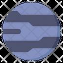 Neptune Planet Star Icon