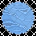 Neptune Planet Astronomy Icon
