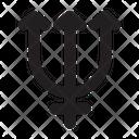 Neptunus Astrology Symbol Icon
