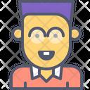 Nerd Geek Glasses Icon