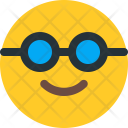 Nerd Sunglasses Emoji Icon