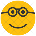 Nerd Emoji Smiley Icon