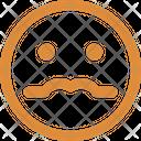 Nerdy Baffled Emoticon Emoticons Icon