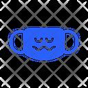 Nervous Mask Virus Icon