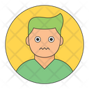 Nervous Boy Icon