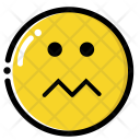 Nervous face Icon