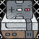Nes Console Controller Icon