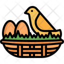 Nest Egg Bird Icon