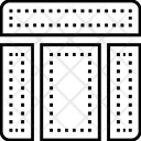 Nested Grid Web Icon