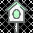 Nesting Box Bird Icon
