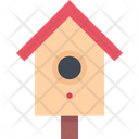 Nesting Box Roosting Place Birdhouse Icon
