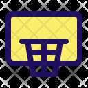 Net Hoop Basket Icon