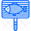Net Fish Grill Icon