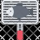 Net Fish Grill Icon