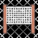 Net Badminton Sport Icon