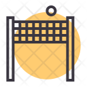 Net Volleyball Game Icon