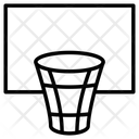 Net Ball Court Competition Icon