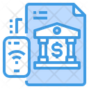 Net Banking Document Icon