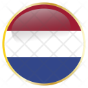 Netherland Country Flag Icon