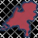 Netherland Map Icon