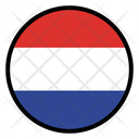 Netherlands Nation Country Icon